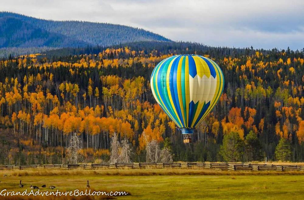 Grand Adventure Balloon Rides Colorado Winter Park Breckenridge, Denver